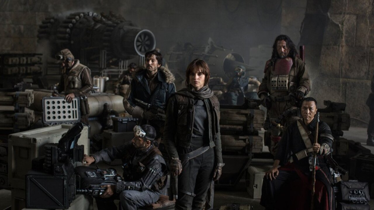 'Rogue One' lands with $290 million worldwide box office debut