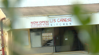 Video shows a Florida Chinese restaurant handling meat in outside sink