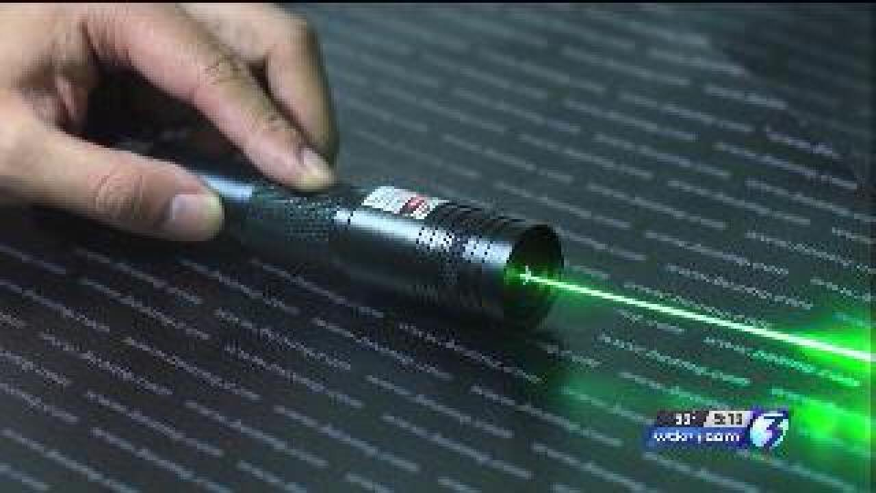 Feds launch investigation into lasers distracting military planes at Naval Station Norfolk