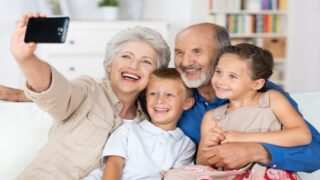 Grandparents provide a safety net during COVID