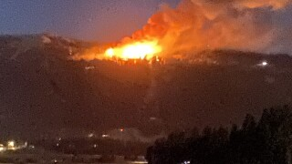 'West State' fire
