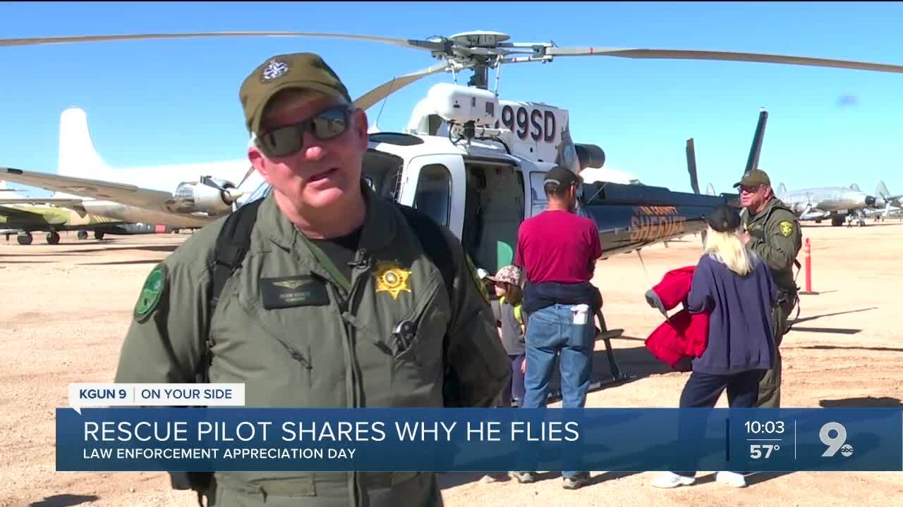Rescue pilot shares why he flies
