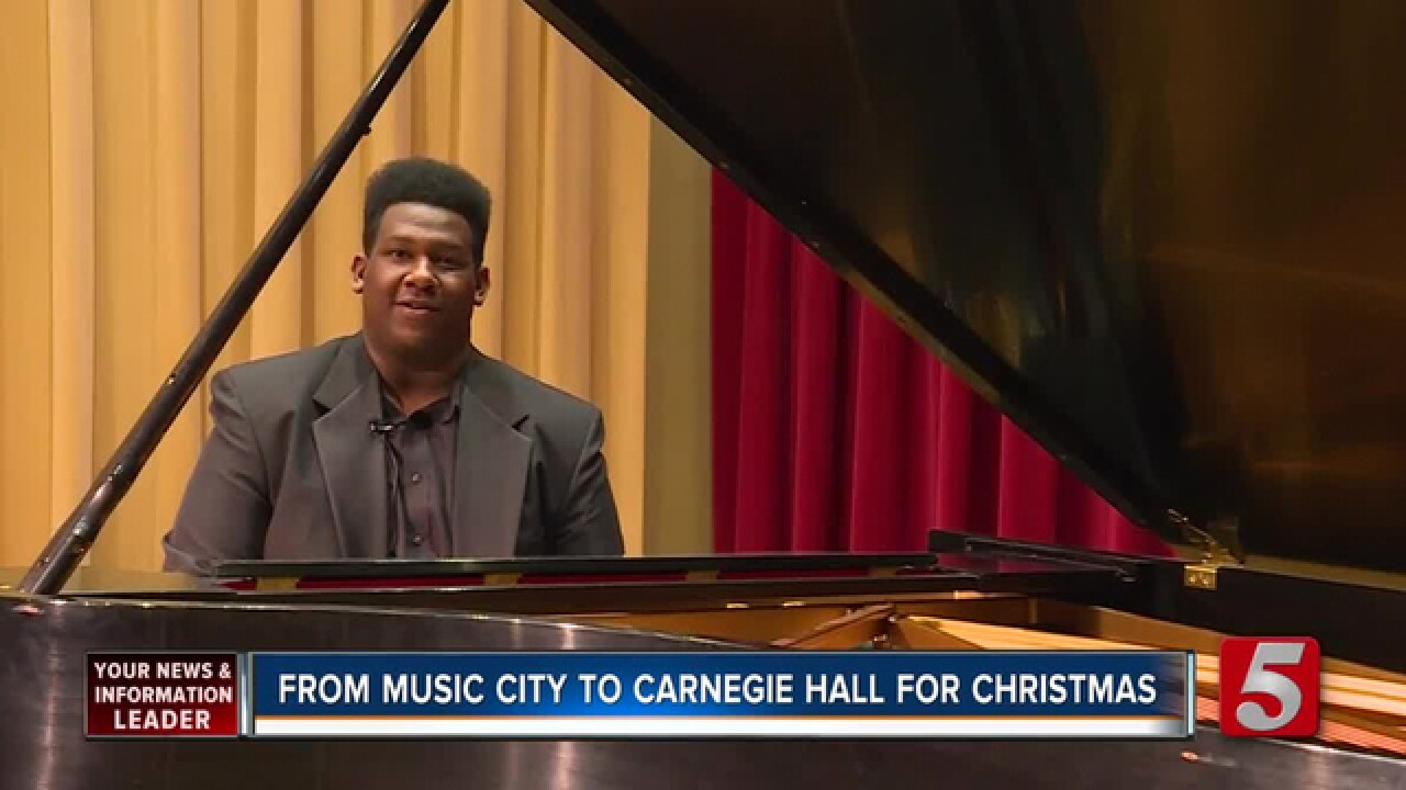 Once Homeless, Belmont Student Now Famed Concert Pianist