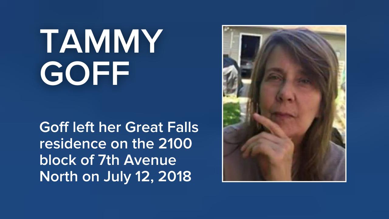 Tammy Goff missing