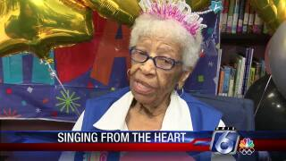 """Granny Davis"" celebrates her 100th birthday"