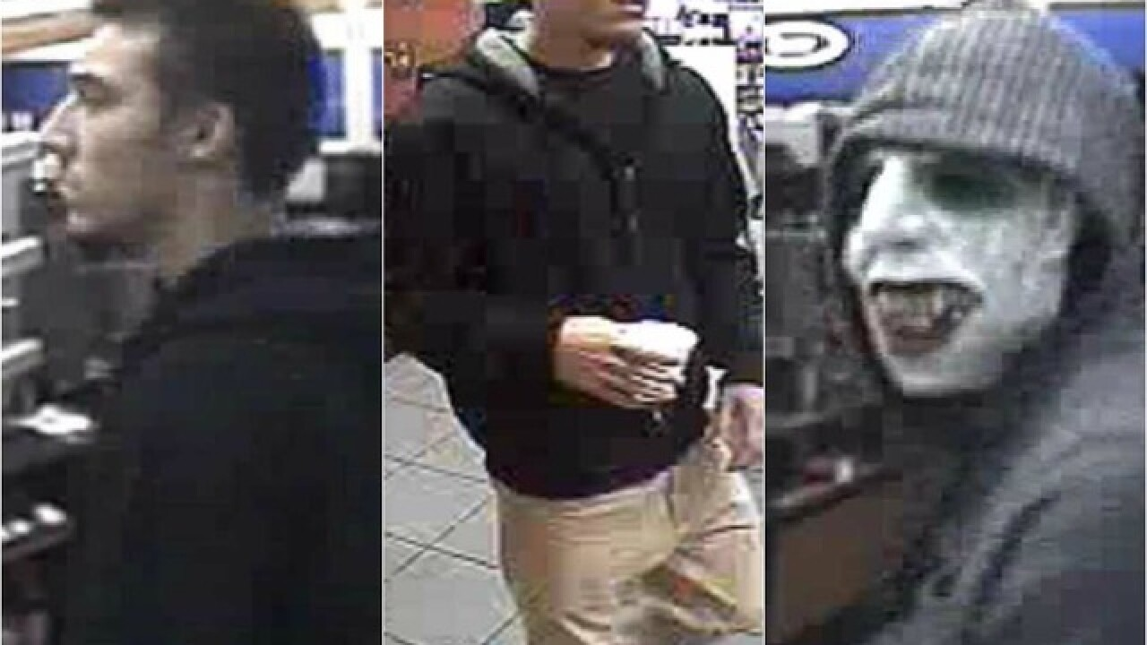 PD: Taco Bell robber is 'Joker mask' thief