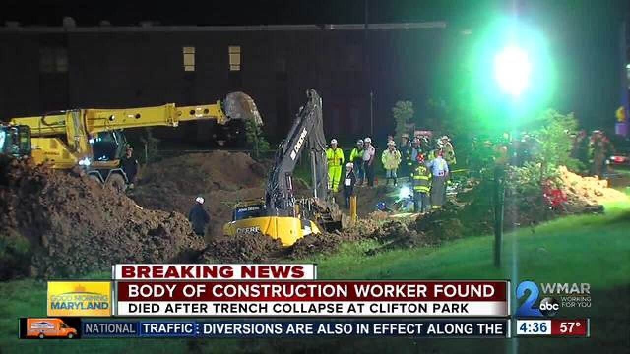 Body of 19-year-old construction worker found