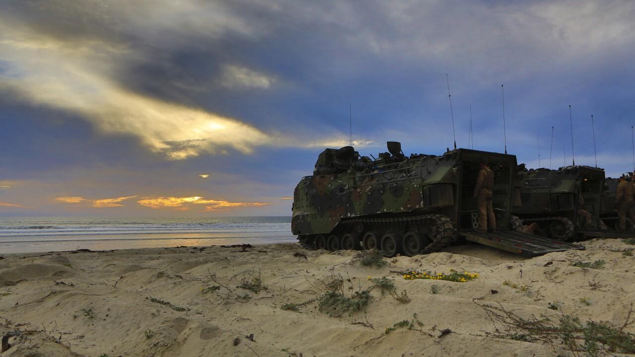 Marines, JGSDF conduct amphibious landing on Pendleton