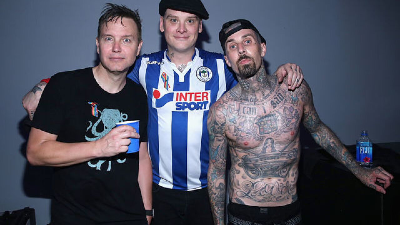 Blink-182 announces residency at Las Vegas casino