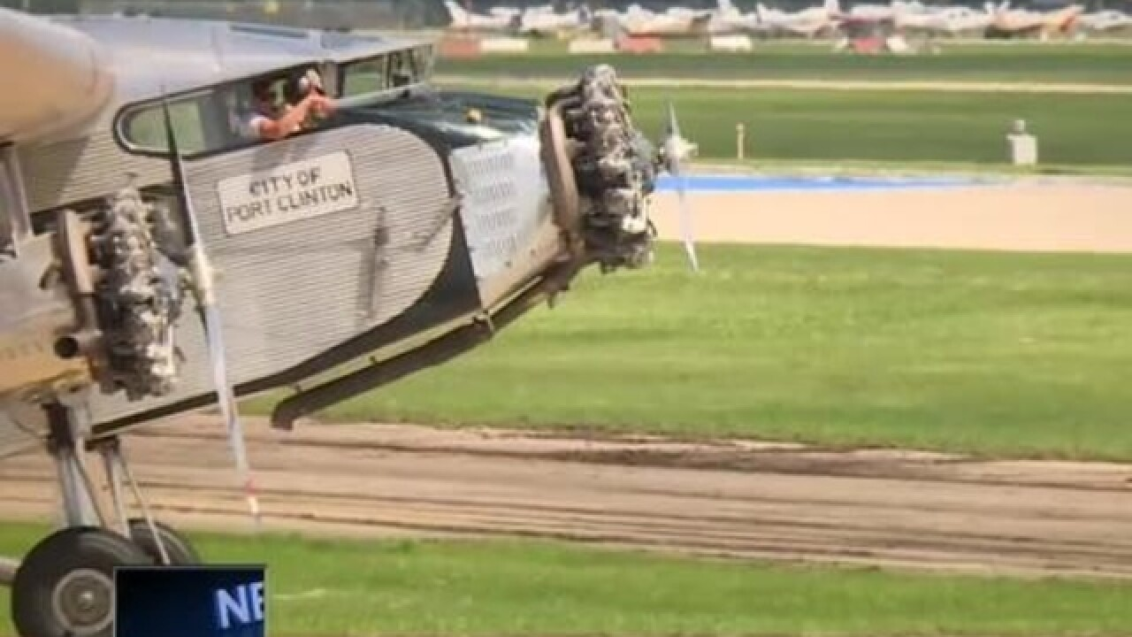 EAA Airventure lands in Oshkosh