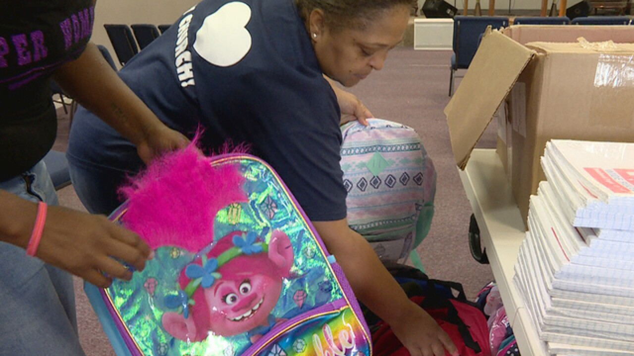 Back-To-School Event Helps Domestic Violence Victims