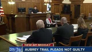 Aubrey Trail pleads not guilty