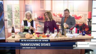 Dr. Bitner shows us how to make her favorite Thanksgiving recipes