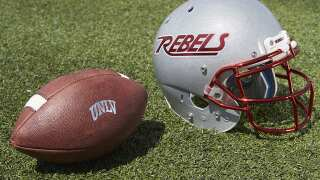 UNLV football to wear special helmet during season opener