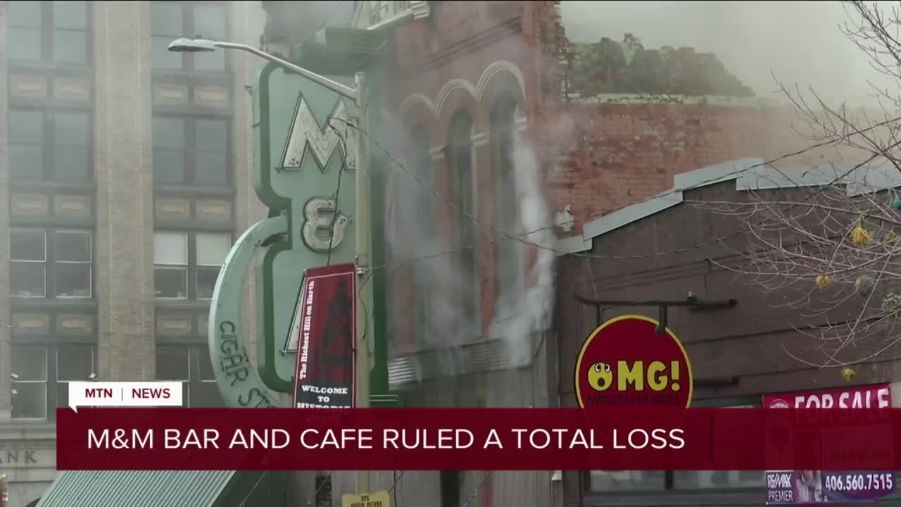 Historic M&M Bar in Butte goes up in flames