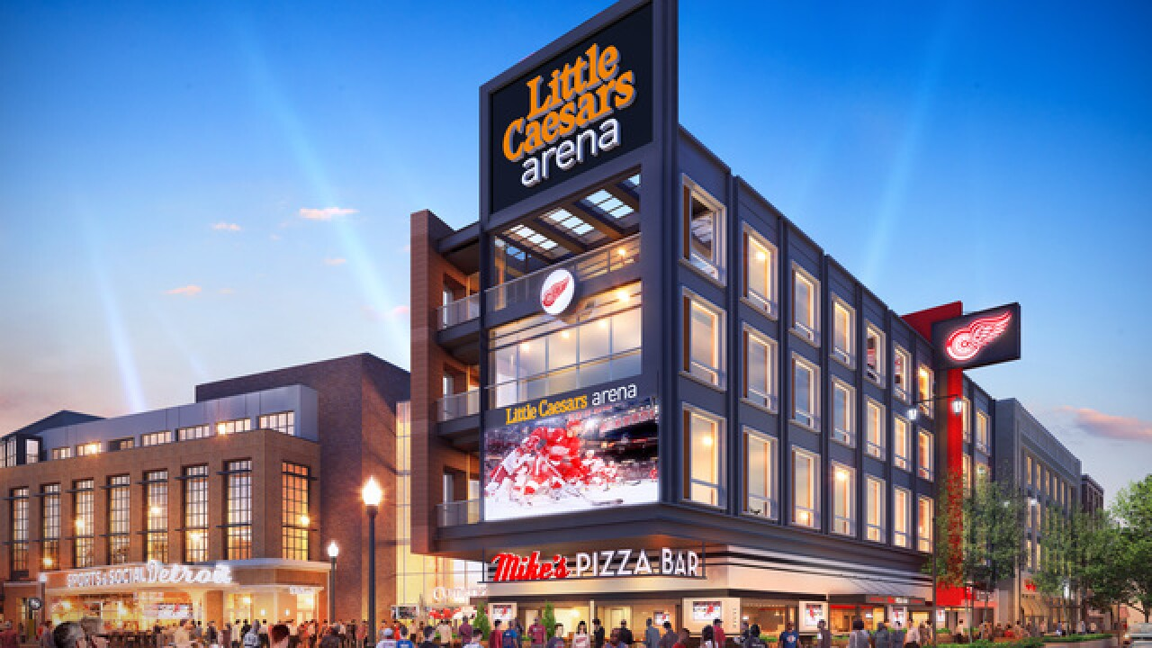 Little Caesars Arena gets 2 new food venues
