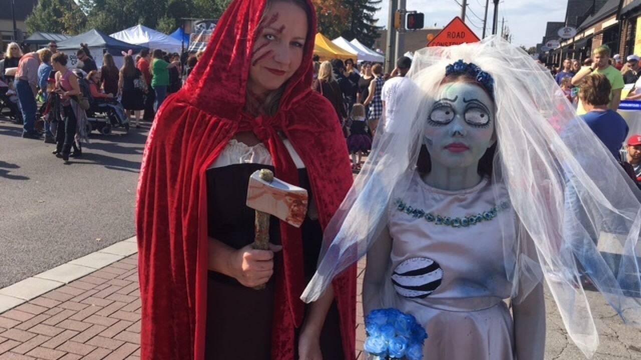 LOOK: Costumes at Irvington Halloween Fest