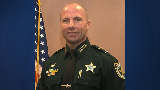St. Lucie County Sheriff's Office Chief Deputy Brian Hester