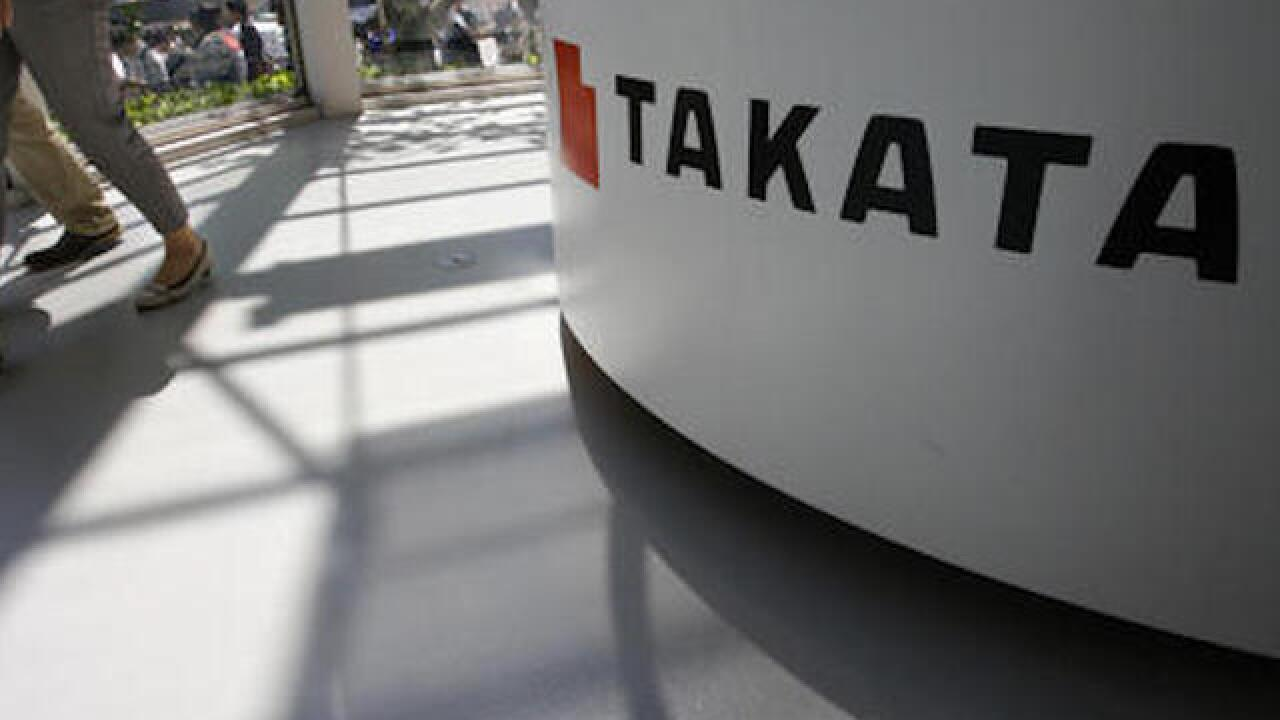 Criminal complaint filed in Japan over Takata