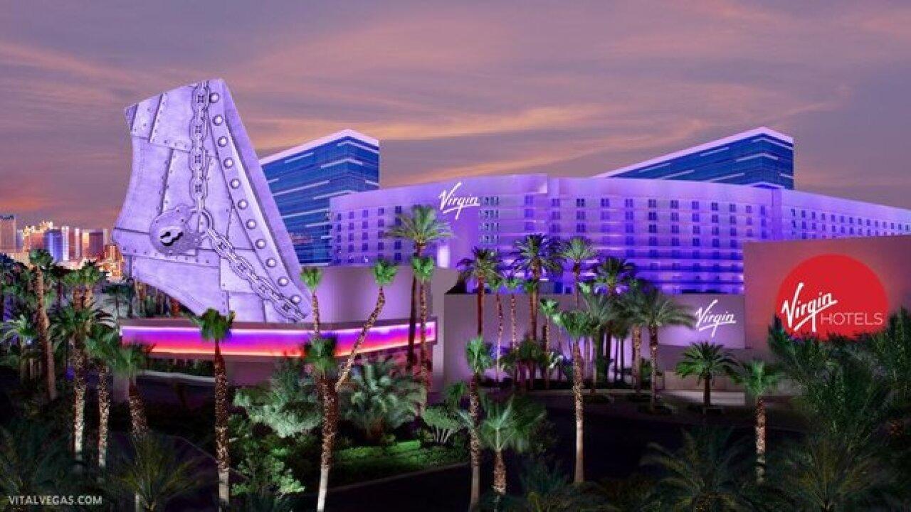 Fake rendering pokes fun at possible Virgin rebrand of Hard Rock Hotel and  Casino