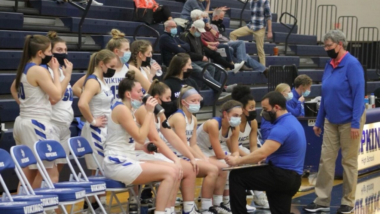 Hopkins varsity team hoping for another game after COVID quarantine