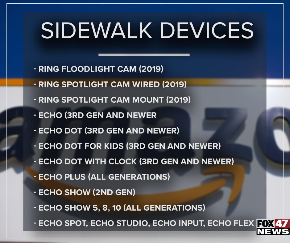 Sidewalk Devices