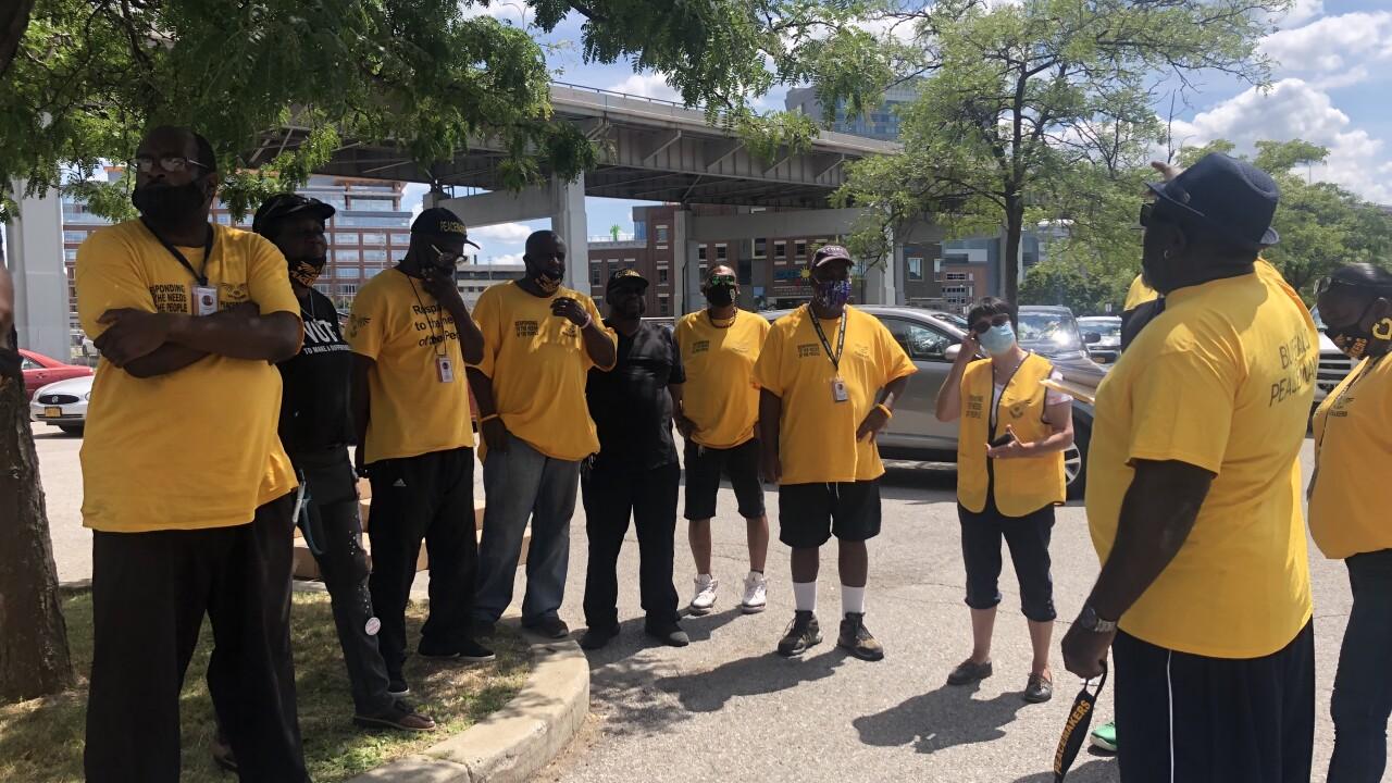 Buffalo Peacemakers meeting on Marine Drive
