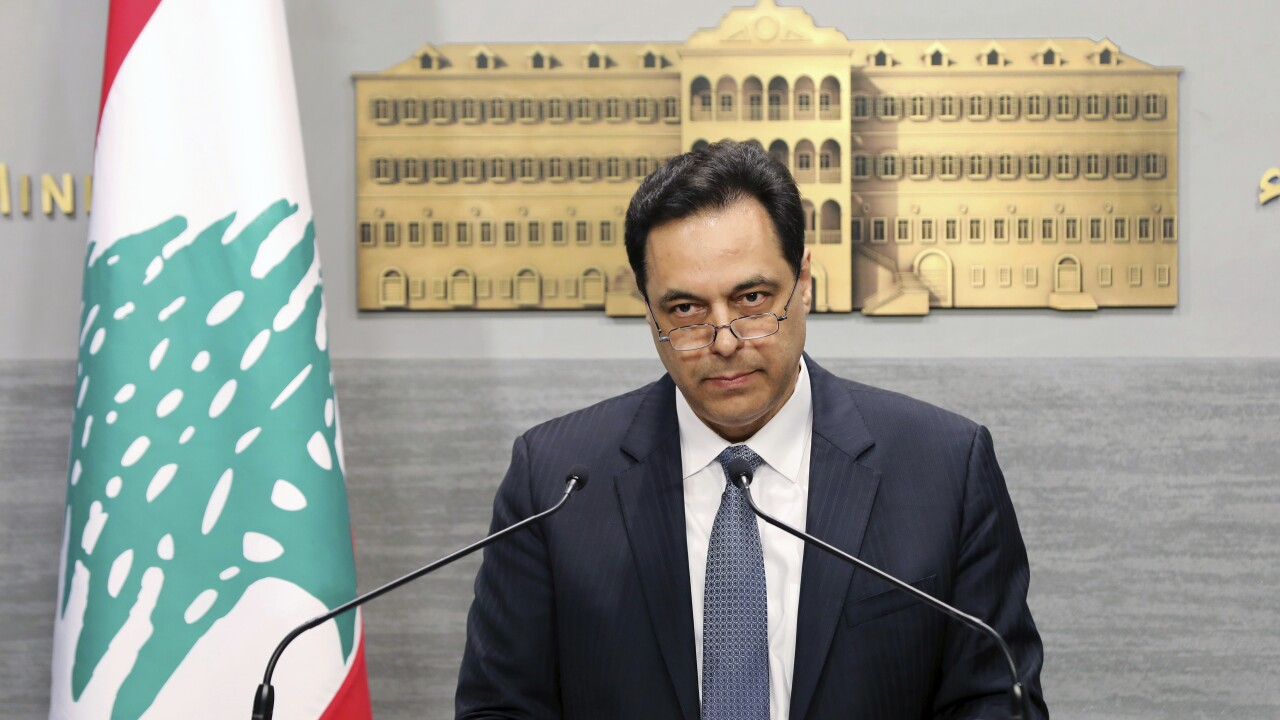Lebanese government resigns over Beirut blast amid public fury