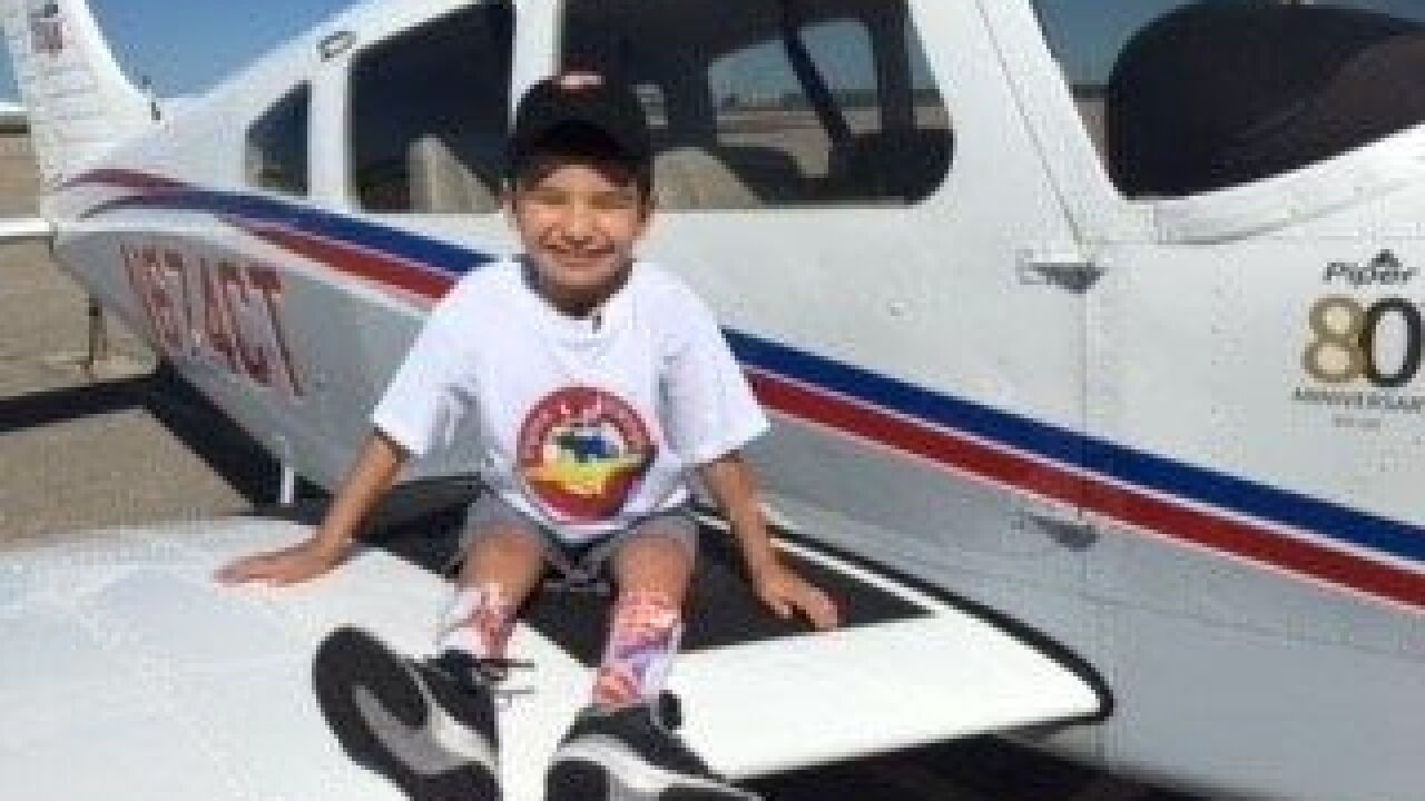 Nonprofit helps children with illnesses, disabilities fly planes