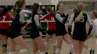 High School Volleyball: Omaha Skutt defeats Omaha Duchesne 3-0