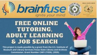Nueces County libraries partners with Brainfuse