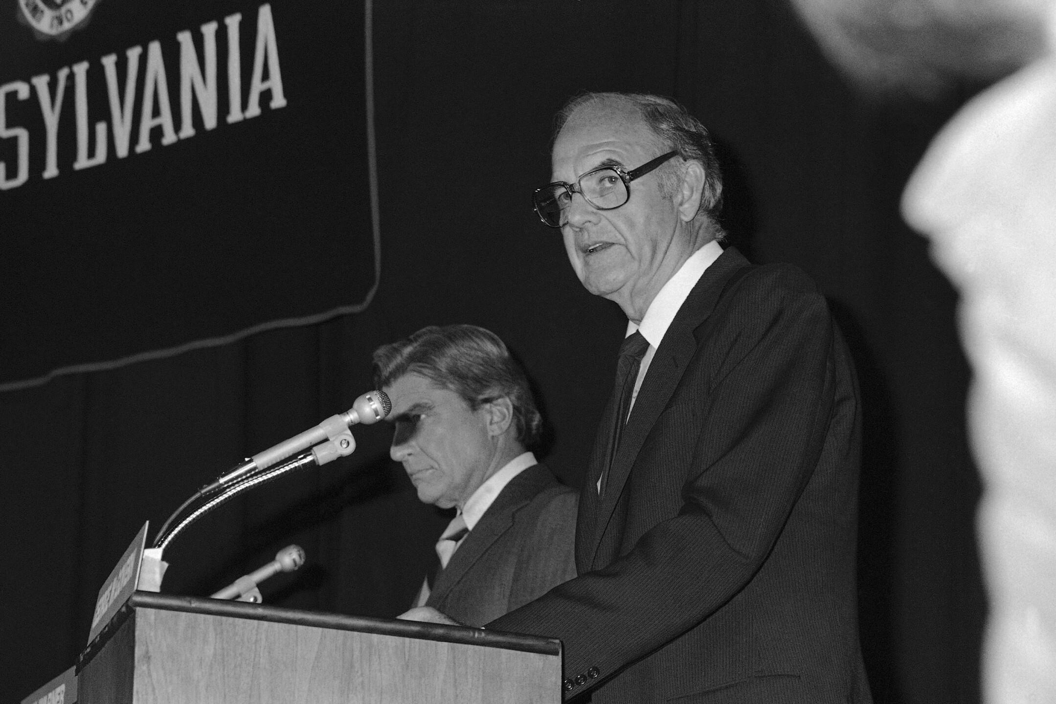 George McGovern, John Warner