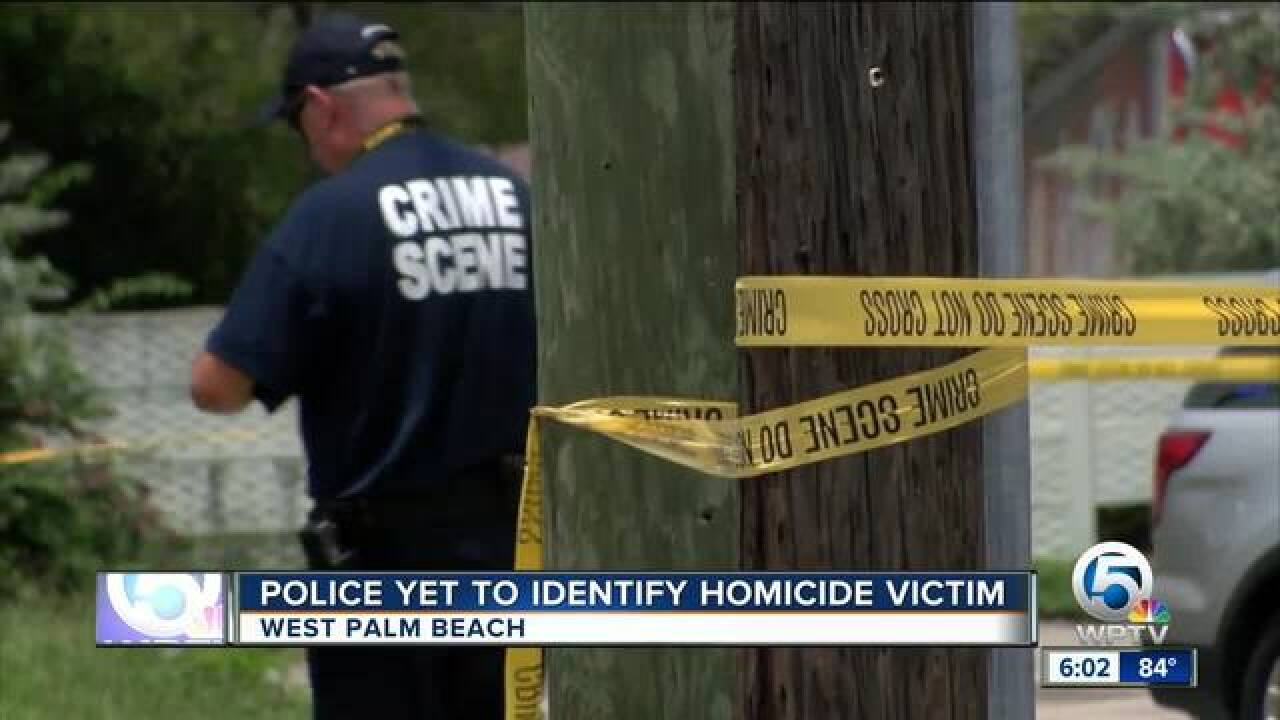 West Palm Beach police ID victim in fatal shooting