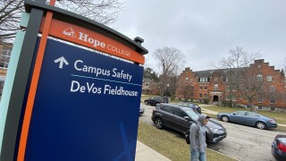 Hope College Coronavirus Concerns on campus