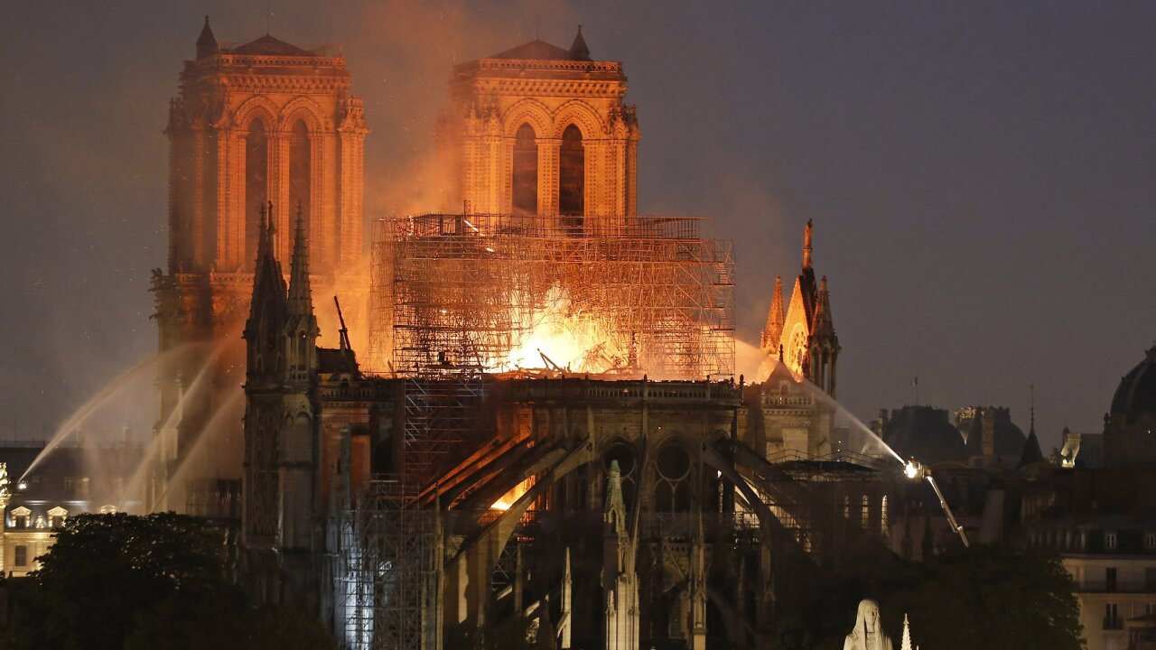 Notre Dame Cathedral to celebrate first Mass since fire