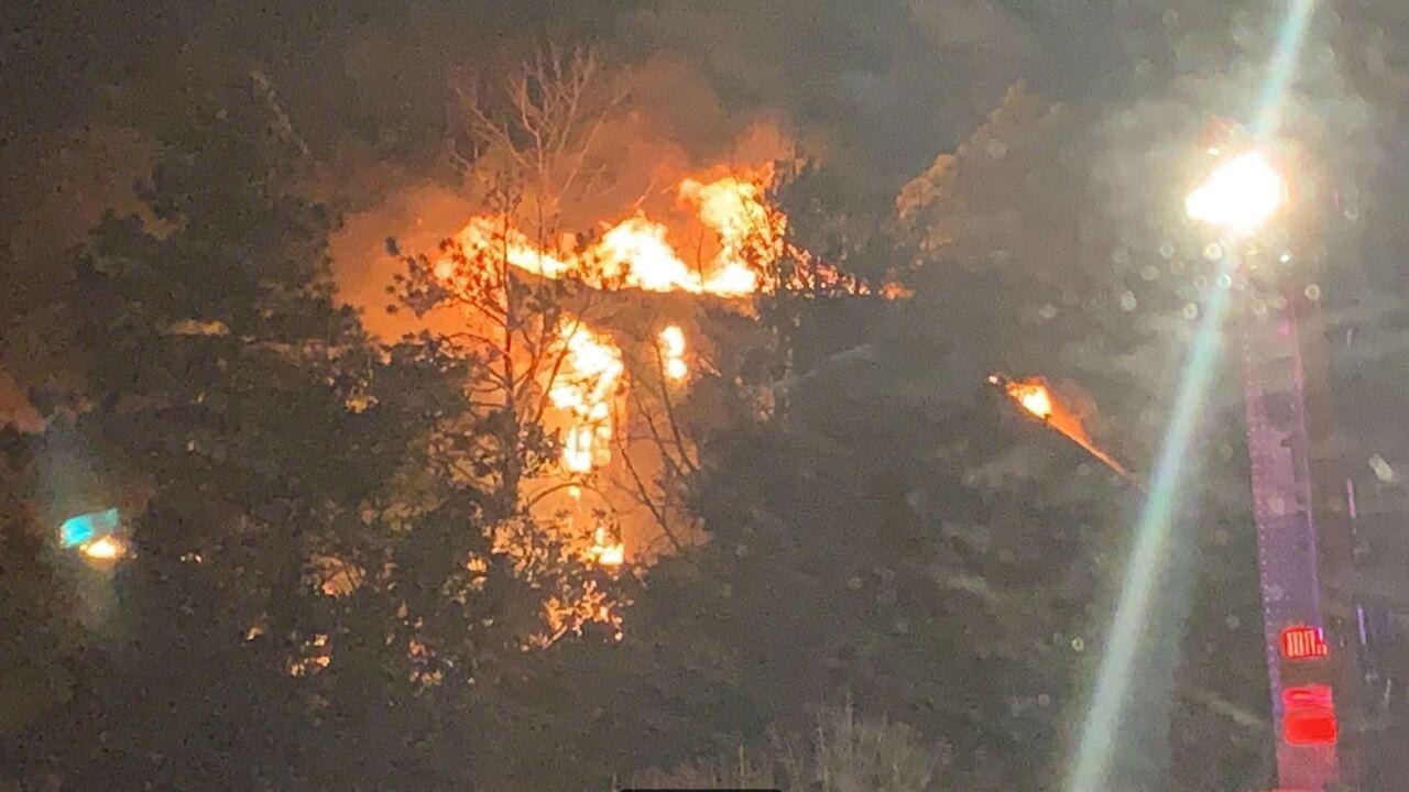 Oak Hill Drive Fire