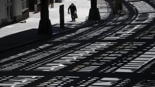 Elevated subway tracks in Brooklyn