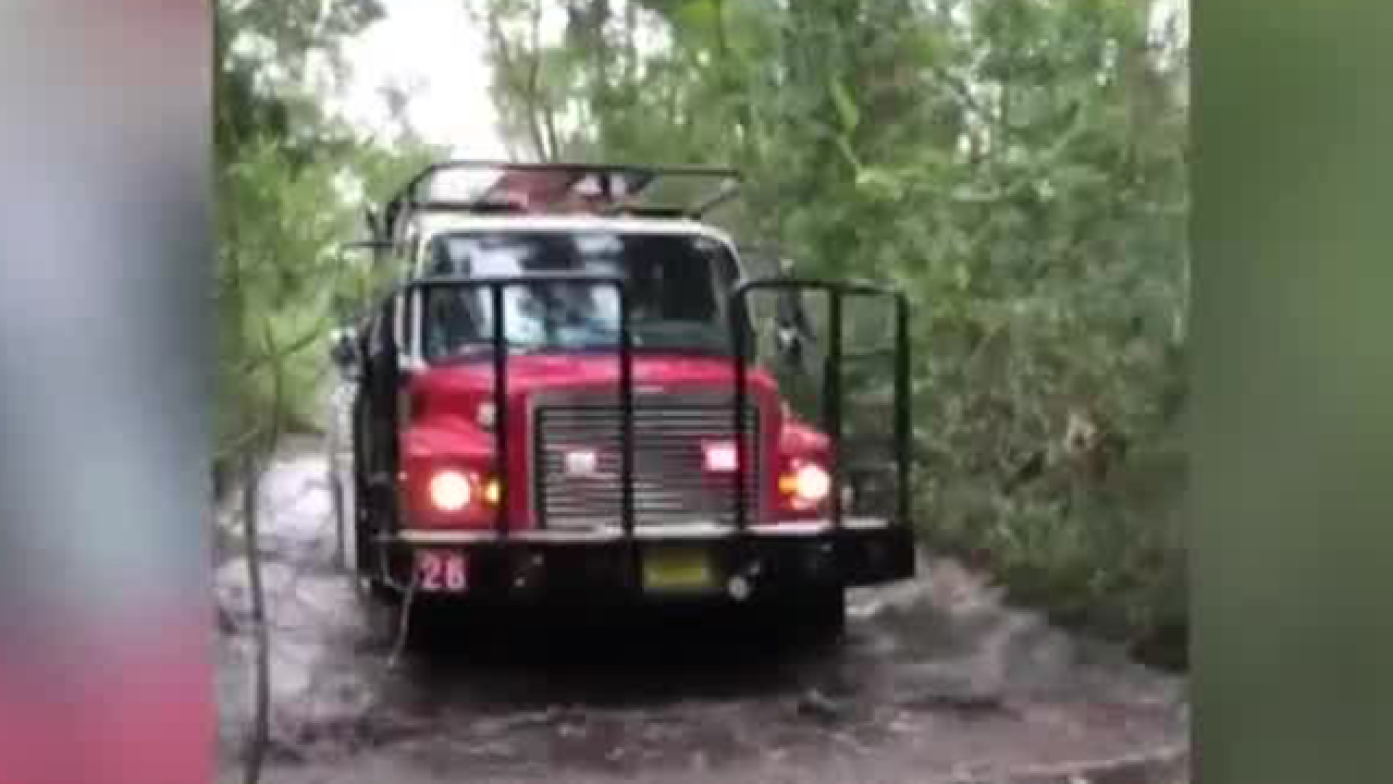 Responding in a washout in Loxahatchee Groves