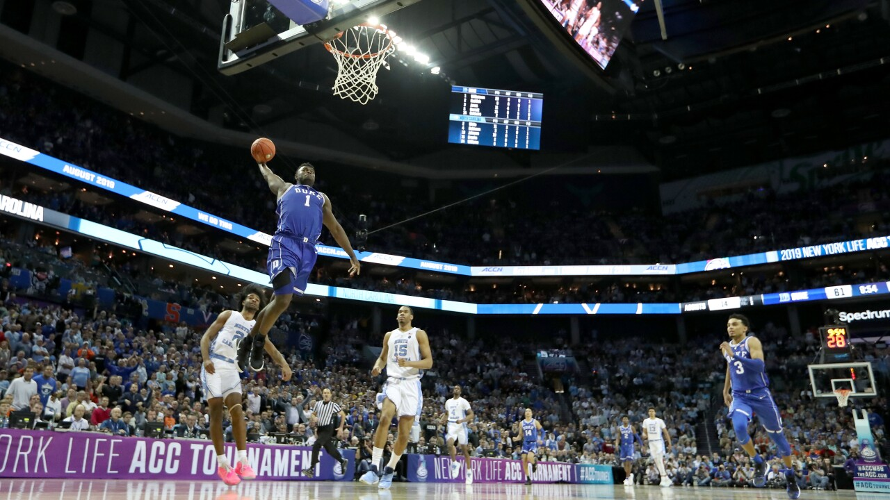 Semifinal spectacle: Zion dazzles as Duke beats North Carolina in ACC Tournament thriller