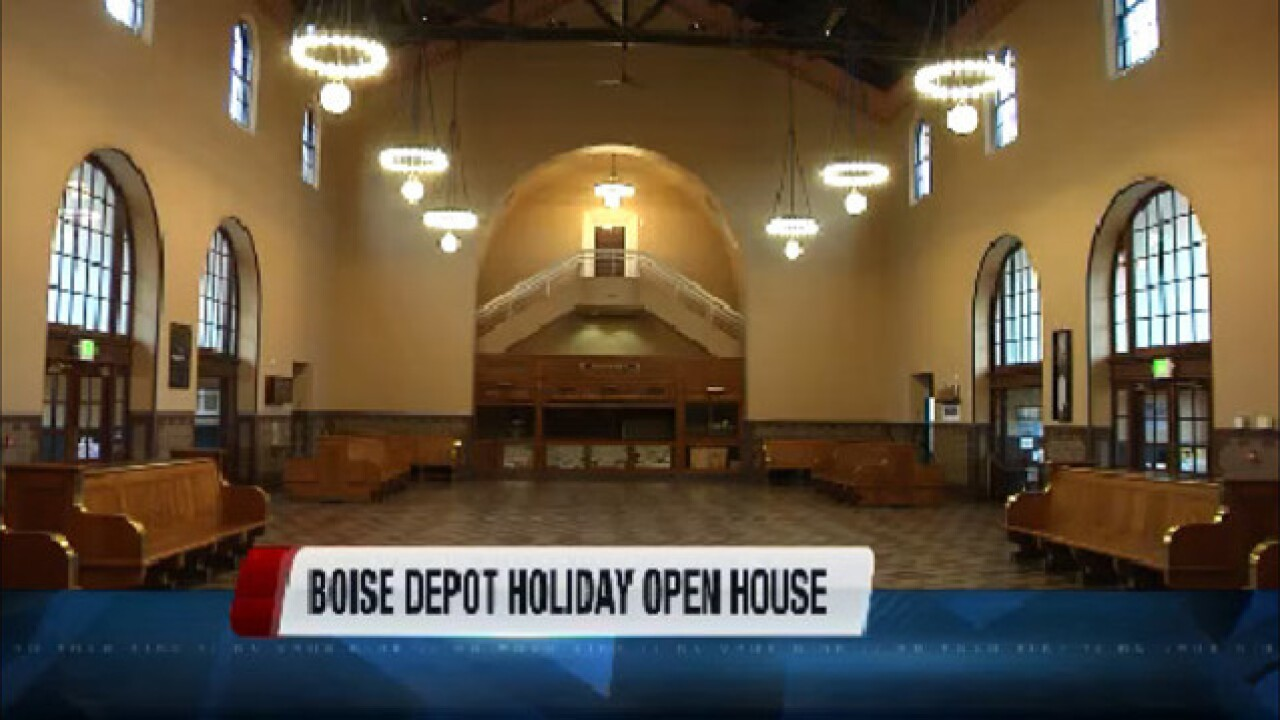 Boise Depot holiday open house and toy drive