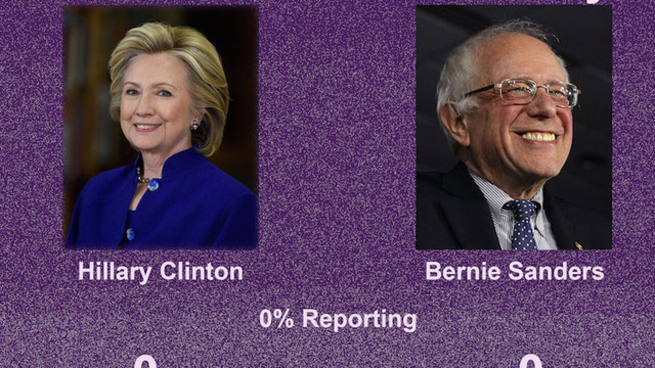 Clinton, Sanders battle for votes in SC