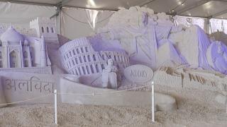 Sand scultpture