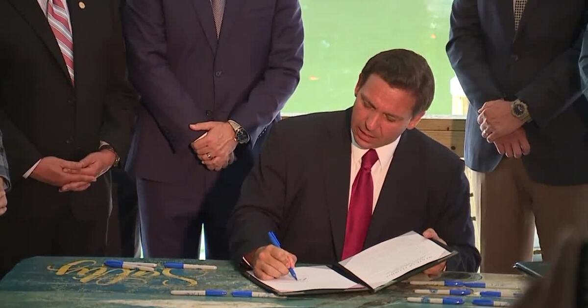 Governor DeSantis signs order to end all local COVID-19 restrictions