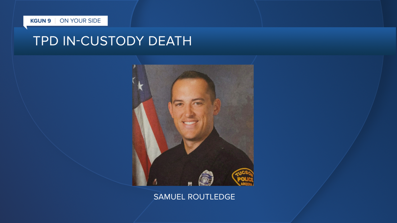 TPD officer Samuel Routledge resigned the day before a TPD  investigation into the in-custody death of Carlos Adrian Ingram-Lopez was completed.