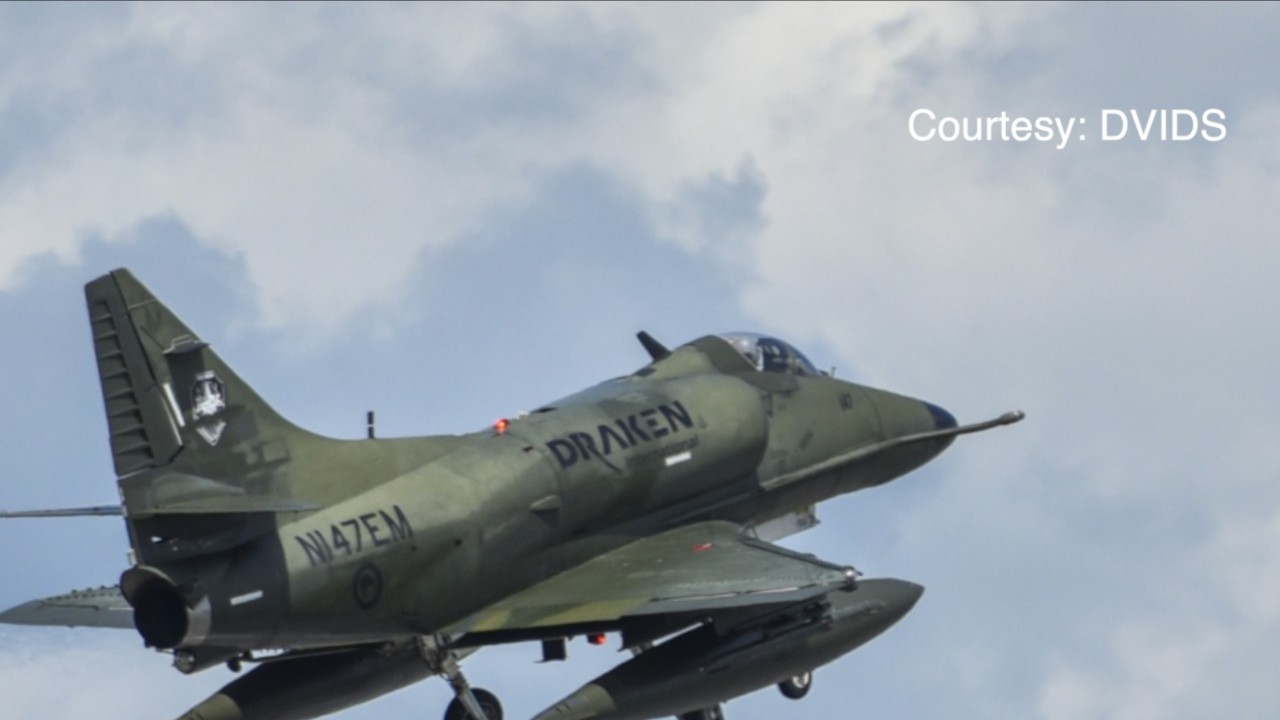 Military budget cuts explain why crashed fighter jet was operated by contracted pilot