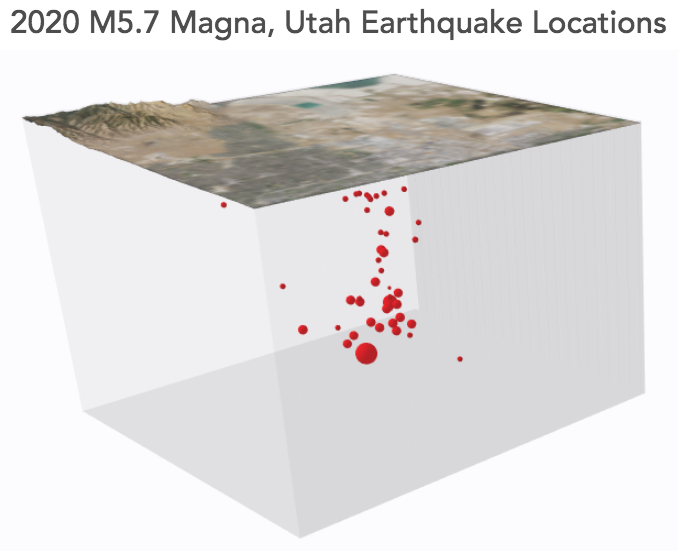 March 18 Earthquake Depth Map