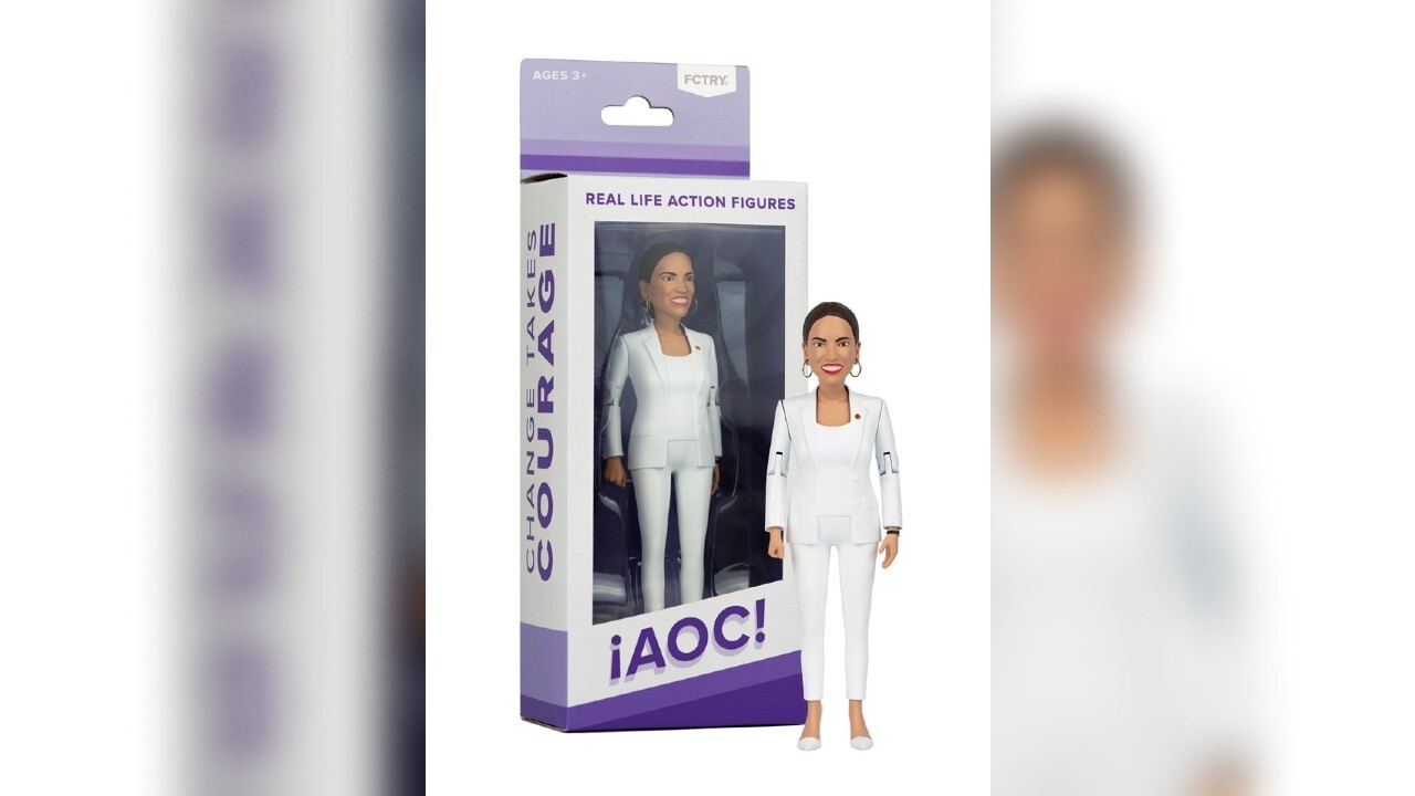 Rep. Alexandria Ocasio-Cortez getting her own action figure