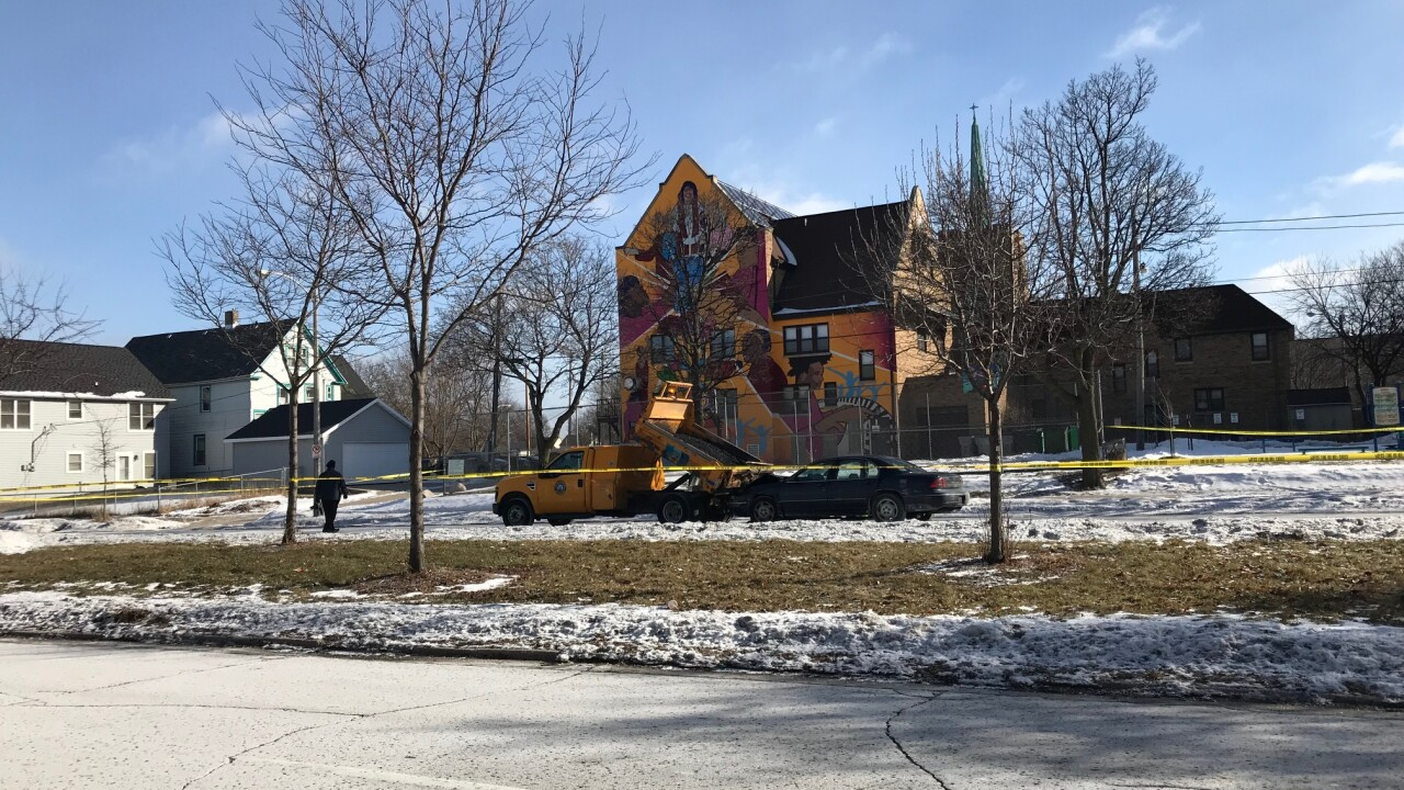 DPW truck might have been involved in Friday death