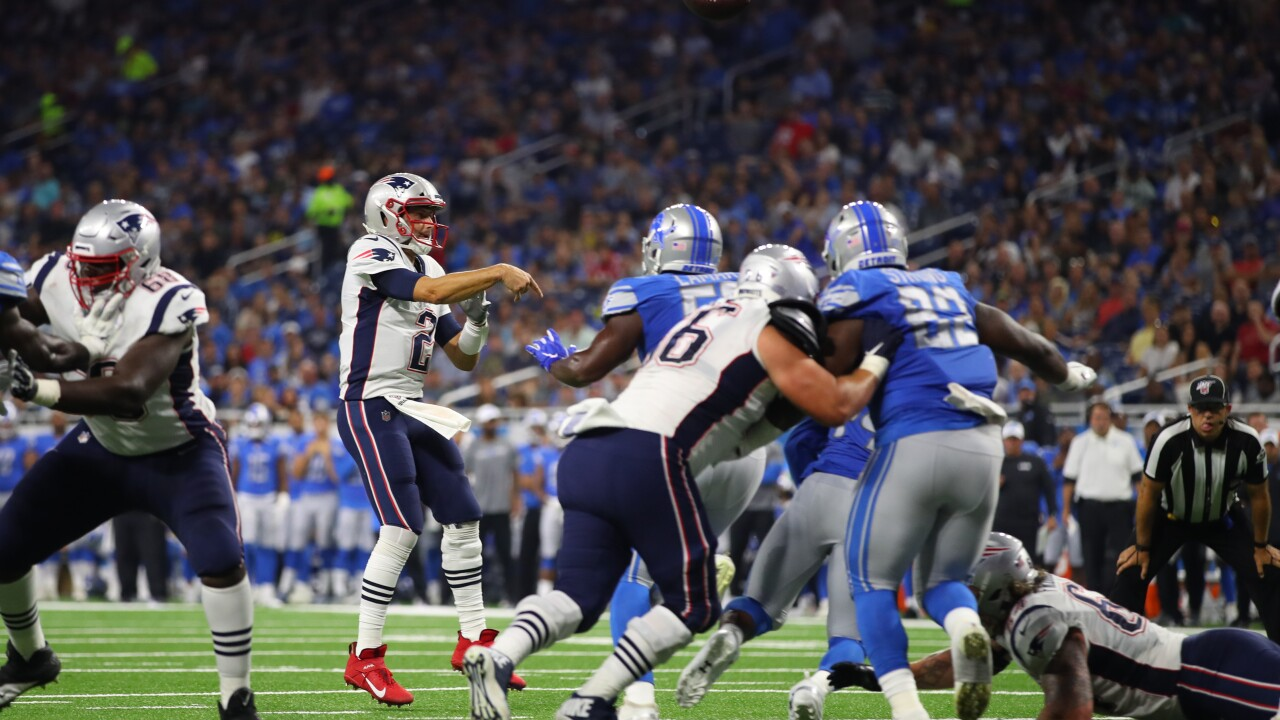 Patriots beat Lions in preseason opener