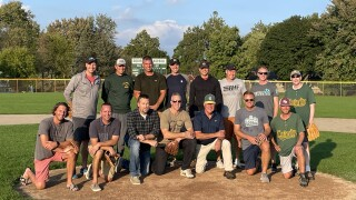 Calvin Christian baseball players reunite after 25 years